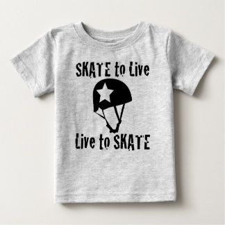 Roller Derby, Skate to Live Live to Skate, Jammer Baby T-Shirt