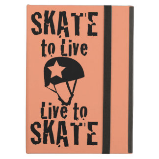 Roller Derby, Skate to Live Live to Skate, Jammer Case For iPad Air