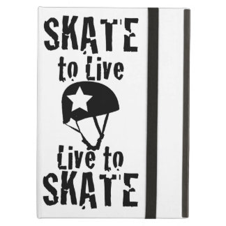 Roller Derby, Skate to Live Live to Skate, Jammer iPad Air Cover