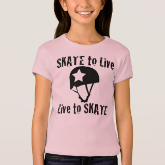 Roller Derby, Skate to Live Live to Skate, Jammer T-Shirt