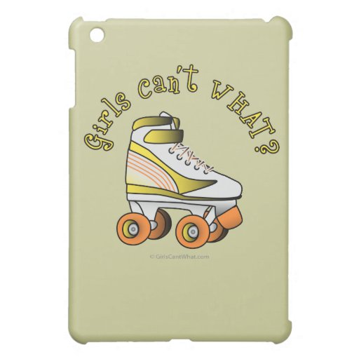 Roller Derby Skate - Yellow iPad Mini Cases