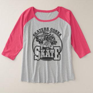 Roller Derby - Skaters Gonna Skate Plus Size Shirt