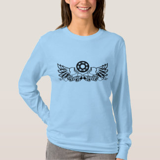 Roller Derby Skates with wings T-Shirt