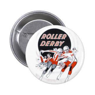 Roller Derby Vintage Program Pin