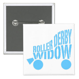Roller Derby Widow 15 Cm Square Badge