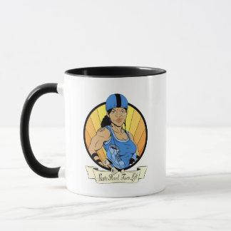 Roller Girl (Colour) Mug