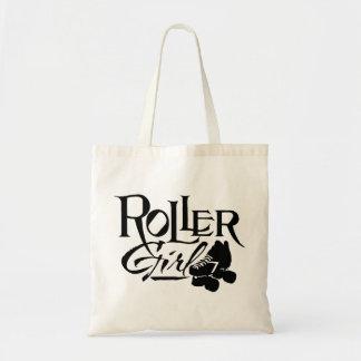 Roller Girl, Roller Derby Budget Tote Bag