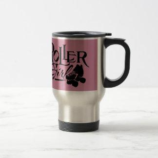 Roller Girl, Roller Derby Stainless Steel Travel Mug