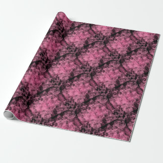 roller pink paper gift