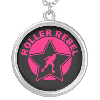 Roller Rebel Silver Plated Necklace