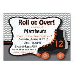 Roller Skate Birthday Party Invitation