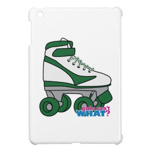 Roller Skate - Green iPad Mini Cases