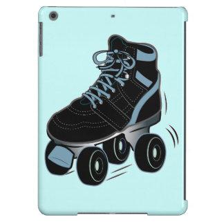 Roller Skate in Black iPad Air Cases