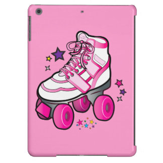 Roller Skate in Pink iPad Air Cases
