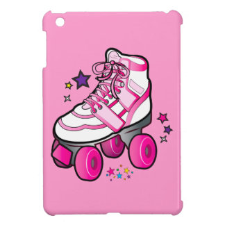 Roller Skate in Pink Case For The iPad Mini