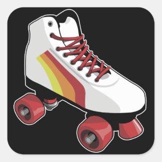 Roller skate sticker