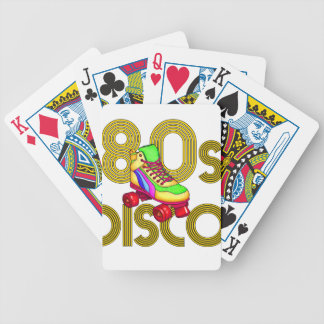 Roller Skater 80s Bicycle Playing Cards