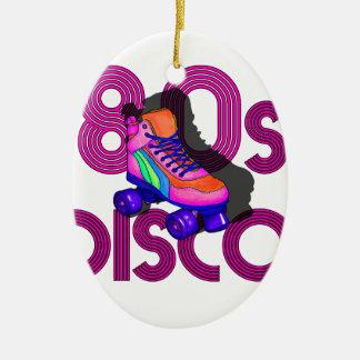 Roller Skater 80s Ceramic Ornament