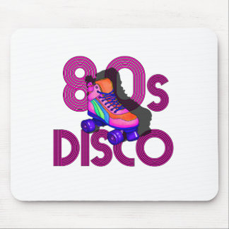 Roller Skater 80s Mouse Pad