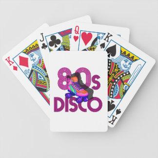 Roller Skater 80s Poker Deck