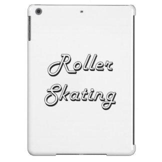 Roller Skating Classic Retro Design Cover For iPad Air