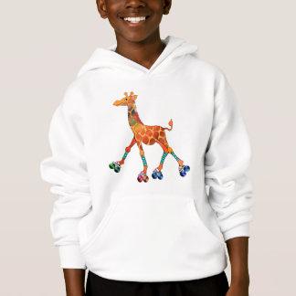 Roller Skating Giraffe
