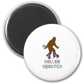 Roller Squatch Fridge Magnets