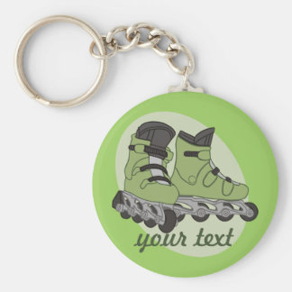 Rollerblade Skates Key Ring