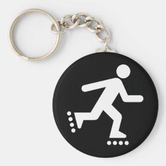Rollerblade Symbol Keychain