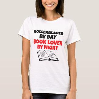 Rollerblader Book Lover T-Shirt
