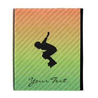 Rollerblading iPad Folio Cover