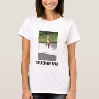 Rollerblading Teddy Bear Woman's T-Shirt