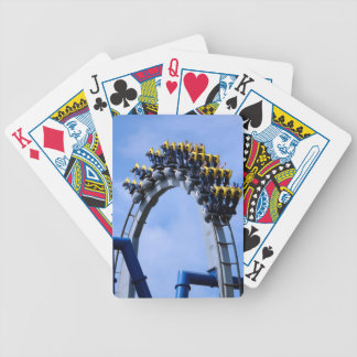 Rollercoaster Bicycle Playing Cards