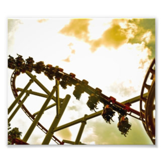 Rollercoaster Photo Print