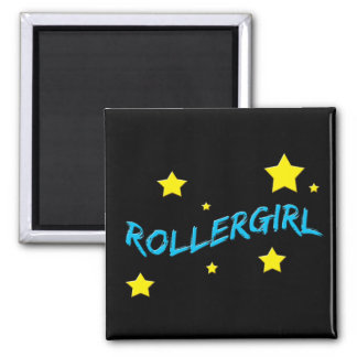 Rollergirl Square Magnet