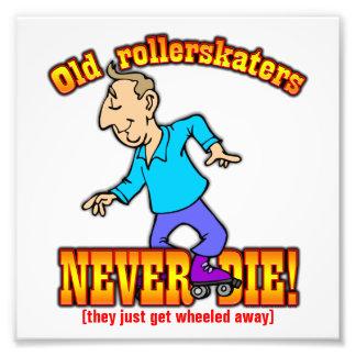 Rollerskaters Art Photo