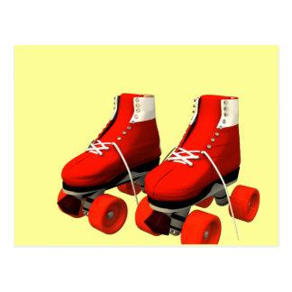Rollerskates Post Card