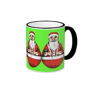 Rollie Pollie Santa Christmas Coffee Mug
