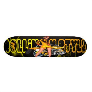 ROLLIN N STYLE SKATE BOARD DECK