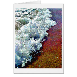 Rolling Froth Card Notecard