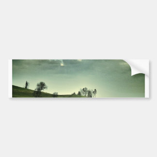 Rolling Hills Landscape Bumper Stickers