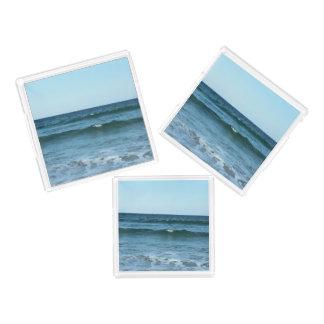 Rolling Ocean Waves Acrylic Tray
