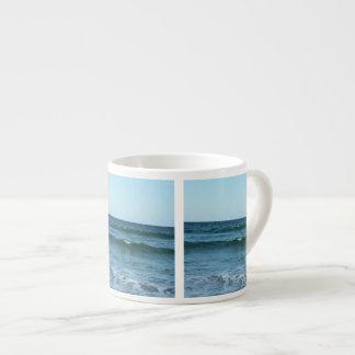 Rolling Ocean Waves Espresso Cup