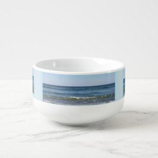 Rolling Ocean Waves Soup Mug