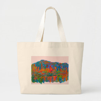 Rolling on New York Large Tote Bag
