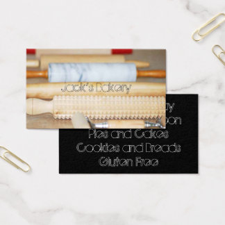 Rolling Pins Bakery Business Card