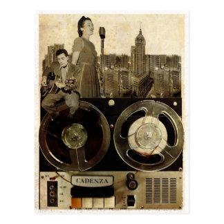 Rolling Tape Postcard