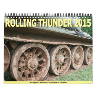 Rolling Thunder 2015 Wall Calendars