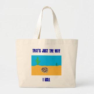 Rolling Tumbleweed Jumbo Tote Bag