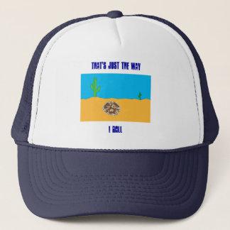 Rolling Tumbleweed Trucker Hat